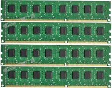 16GB 4x 4GB DDR3 1600MHz PC3-12800 DESKTOP Memory Non ECC 1600 Low Density RAM