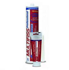 Silicone Sigillante Adesivo MULTIFISS Resistente all'Acqua Immersione 80ml