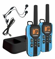 Uniden GMR4055-2CKHS 40-Mile GMRS/FRS Two-Way Radio with Charger and Headsets