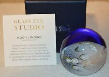 Apollo Moon Landing Celestial Paperweight by Glass Eye Studio, 2232PWC 1
