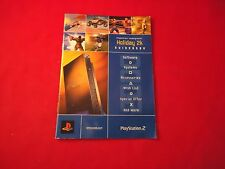 Playstation 1 & 2 PS1 PS2 Holiday 2K Store Brochure Leaflet Info Promo Catalog