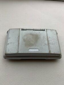 Nintendo DS Original NTR-001 Console - Titanium Silver - Tested - FAIR Condition