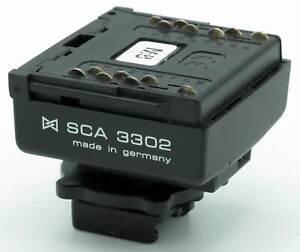 Metz Blitzadapter SCA 3302  (M8) - System 3000 - Sony / Minolta -