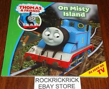 THOMAS & FRIENDS - ON MISTY ISLAND BOOK (BRAND NEW)