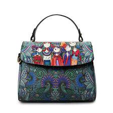 Women Leather Handbag Messenger Shoulder Tote Purse Satchel Hobo Crossbody Bag.