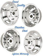 "16"" DODGE SPRINTER VAN 3500 DUALLY JDS166 WHEEL COVER HUBCAP SIMULATOR SET 4 ©"