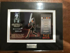 Ahsoka Tano Character Key Rebels #144/250 Limited Ed with COA Free Shipping