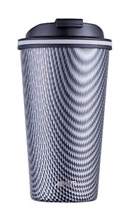 New AVANTI Go Cup Double Wall Stainless Steel Insulated Cup 410ml Carbon