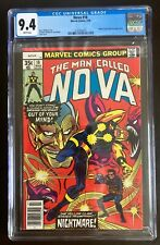 Nova #18 CGC 9.4 White Pages New Case Marvel March 1978
