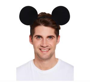 Mickey Mouse Ears Headband Hen Party Fancy Dress Spotted Ladies Kids(U00 506)