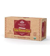Organic India Tulasi Tulsi Masala Chai 25 Tea Bags