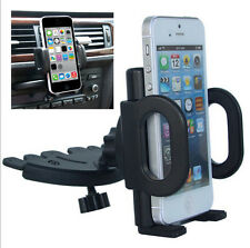 360° Car Holder CD Slot Mount Bracket For Mobile Smart Cell Phone iPhone Samsung