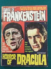 Famous Films #2 Curse Of Frankenstein HORROR OF DRACULA WARREN Publishing
