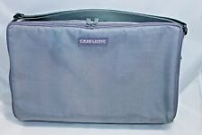 Case Logic Gray Cassette Storage Case Tote With Adjustable Strap Holds 30 Tapes