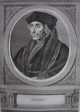 ERASME , PORTRAIT 1788 ,