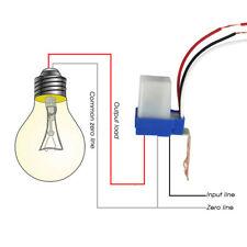 AC 220V 10A Automático Célula Fotoeléctrica Luz  Calle Sensor De Auto-onoff