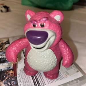 "Toy Story 3 Lots O Huggin Bear 3 1/4"" PVC Plastic Figure - Pixar / Disney (mv)"