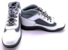 Timberland Shoes Lady Premium Leather Athletic White/Grey Boots Womens 6
