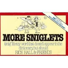 More Sniglets: Any Word That Doesnt Appear in the