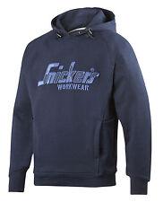 Snickers 2824 Flexiwork Work Camo Hoodie Sweatshirt Navy or Grey Small -XXLarge