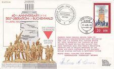 Rare ES36d  Liberation of Buchenwald Signed H Daman Clews Imprisoned Ravensbruck