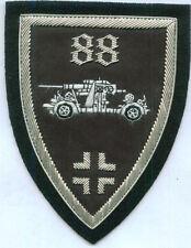 German 88 Anti Tank Gun Unit Crew Panzer War Battle Cross Uniform Patch Flak EK
