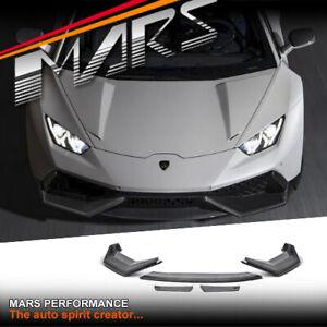 NOVITEC Style Carbon Front Bumper Bar lip Spoiler for Lamborghini Huracan LP-610