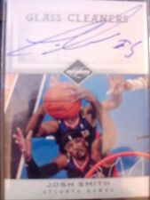 2011-12 Panini Limited Glass Cleaners Josh Smith Auto Autograph #d 71/99