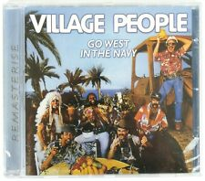 VILLAGE PEOPLE - GO WEST IN THE NAVY - CD - NEW SALED - NUOVO SIGILLATO