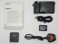Sony Alpha NEX-6 16.1MP Digital Camera - Black (Body Only) BOXED