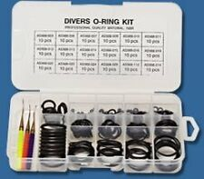 New Innovative 200 pieces O Ring Kit with 3 Assorted Brass Picks Free Shipping