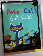 New in Bag McDonald's Happy Meal Booklet Pete The Cat's Got Class By James Dean