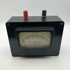 Vintage Ge General Electric Tocco Do 58 8do58a 0 15 D C Amperes Meter Gauge G4