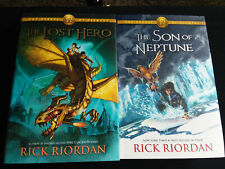 Lot of 2 Riordan Heroes of Olympus Books 1 2 Son of Neptune Lost Hero