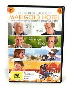 The Best Exotic Marigold Hotel (DVD, 2011) Judi Dench, Bill Nighy R4 Free Post