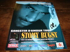 STOMY BUGSY - PUBLICITE GANGSTER D'AMOUR TOUR !!!!!!!!!