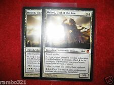 Heliod God of the Sun x2 + 20 Random Rares - Legendary Enchantment Creature set