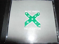Bloc Party Helicopter (Canadian) Remix CD EP Single