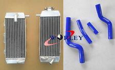 YAMAHA YZF250 YZ250F 2007 2008 2009 Aluminum radiator&silicone hose blue
