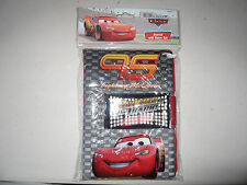 Disney Pixar Cars  4 Packs Lightning McQueen Journal Burning Up the Track #31304