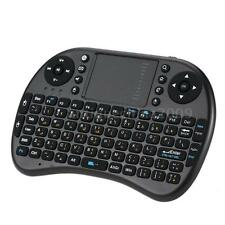 2.4G Mini Wireless QWERTY Arabic Keyboard Mouse Touchpad for PC Black J8O8