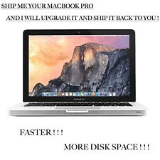 MacBook Pro Upgrade Service - I will upgrade your Mac - Faster - More Disk Space