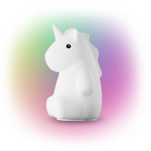 Rylie Unicorn MultiColor Changing Integrated LED Night Light White Lamp Tik Tok