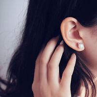 Fashion Women Silver Plated Cute Mini Cat Earrings Ear Studs Jewelry Gift Charm