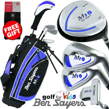 BEN SAYERS JUNIOR GOLF SET AGES 5/8 & 9/11 - BLUE +FREE GOLF TOWEL WORTH £9.99