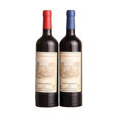 Wine Bottle Shape Refillable Butane Gas Cigarette Cigar Lighter Keychain Novelty