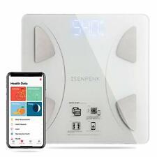 Bluetooth Body Fat Scale,BMI Body Composition Analyzer,Smart Digital Bathroom We