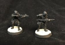 2 Uruk-hai With Crossbows Metal Games Workshop LOTR Lord Of The Rings GW Pewter