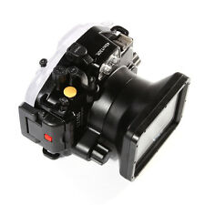New 40M 130ft Waterproof Underwater Housing Case F Panasonic Lumix LX100 24-75mm