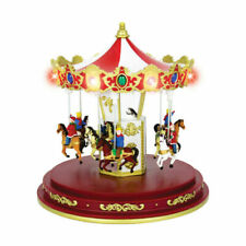 The Christmas Workshop Animated Carousel Ornament (82790)
